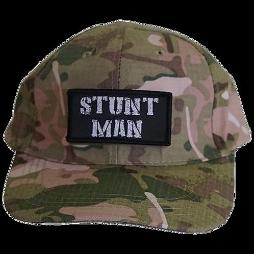 Stunt Man Hat (Black or Camo)