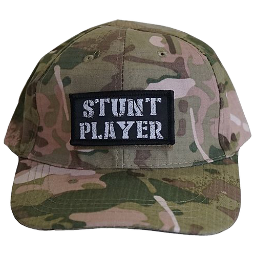 Stunt Player Hat (Black or Camo)