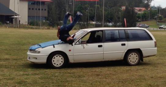 Stunt Performer Bret Easton