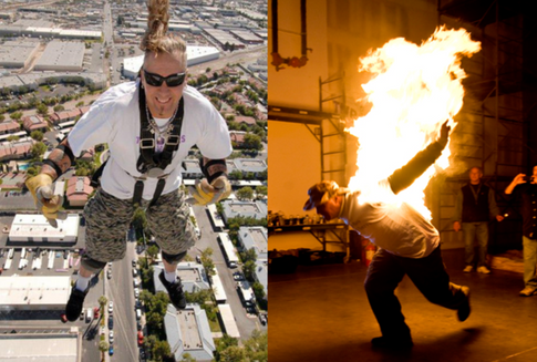 Stunt Performer Rich Hopkins