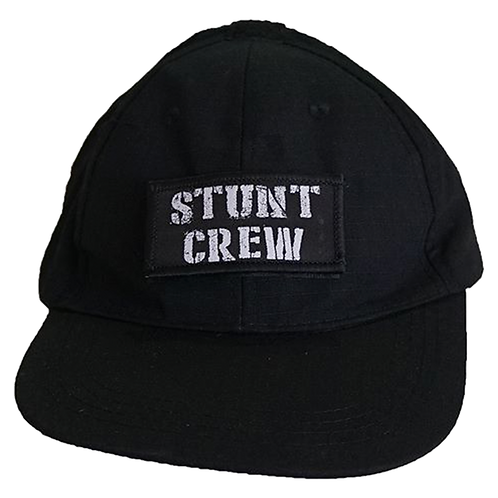 Stunt Crew Hat (Black or Camo)