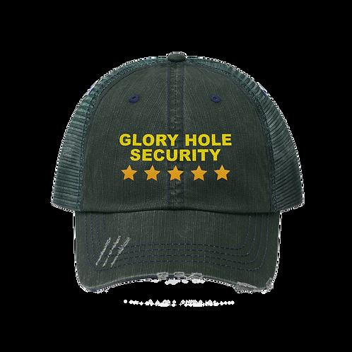 GLORY HOLE SECURITY TRUCKER HAT