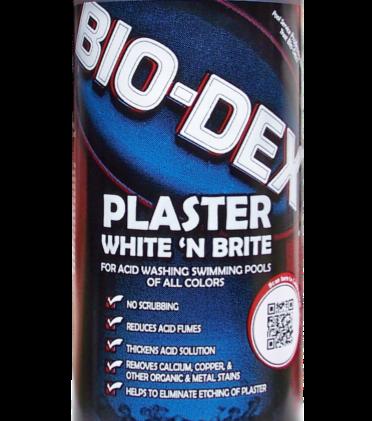 Bio-Dex Plaster White N' Brite