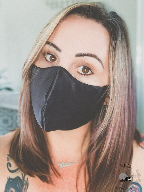 Hello-Honey Face Mask - Black