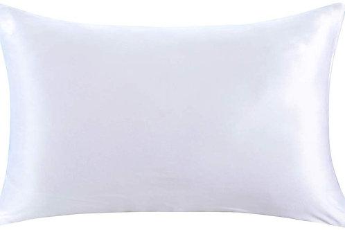 White Satin Pillowcase