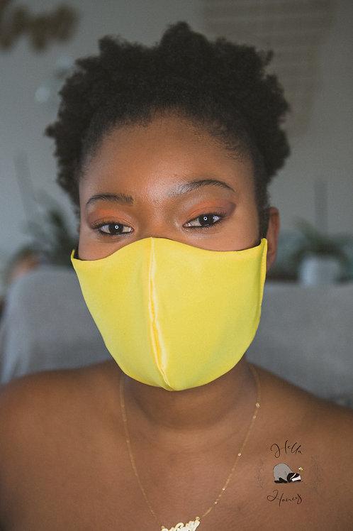 Hello-Honey Face Mask - Canary Yellow