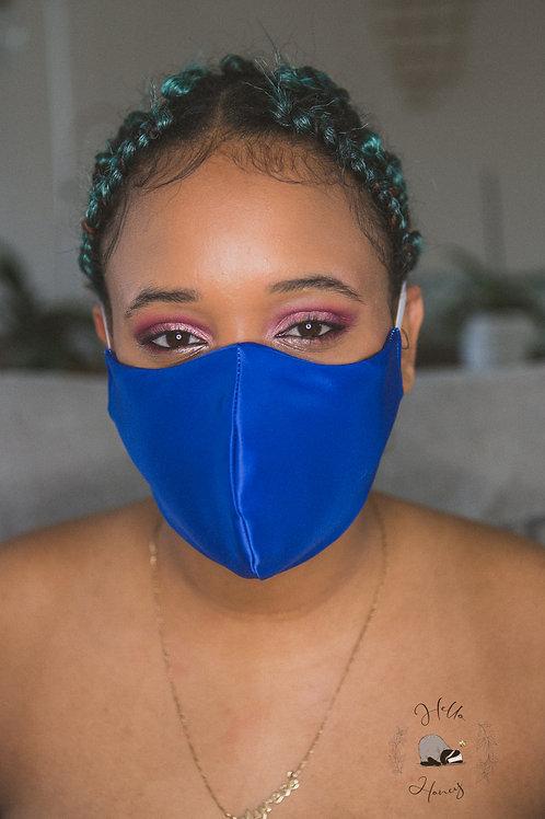 Hello-Honey Face Mask - Royal Blue