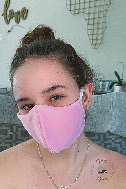 Teen Hello-Honey Face Mask - Black/Pink