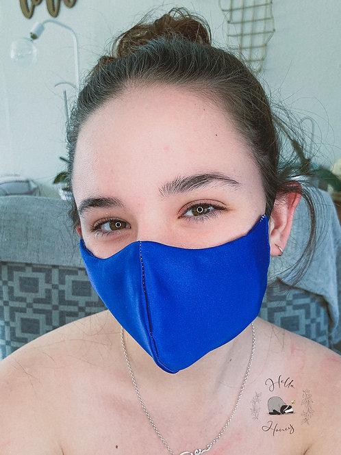 Teen Hello-Honey Face Mask - Black/Blue