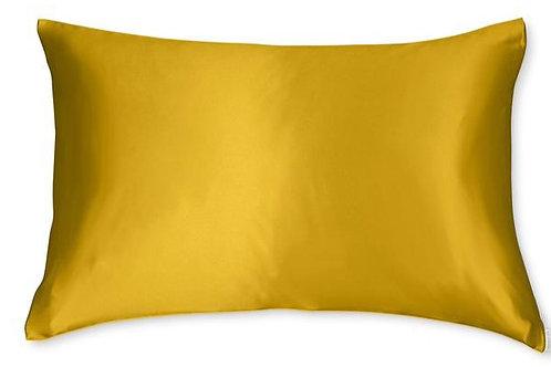 Mustard Satin Pillowcase