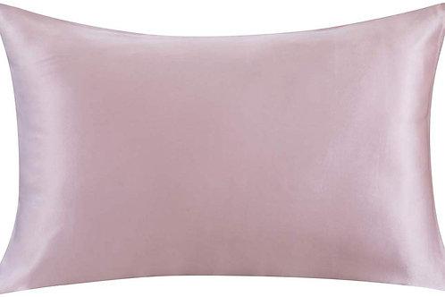 Rose Blush Satin Pillowcase