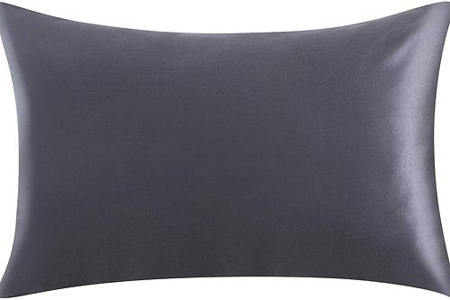 Charcoal Satin Pillowcase