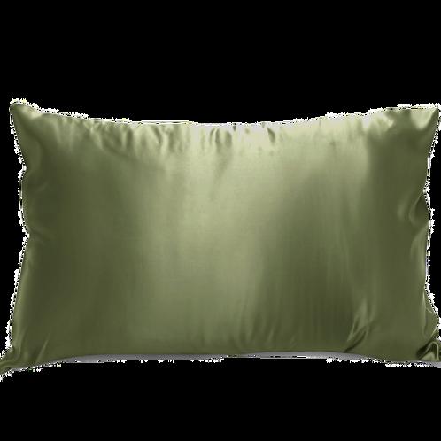 Military Green Satin Pillowcase