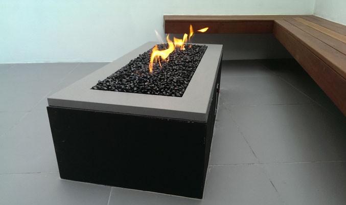 Small bespoke fire pit