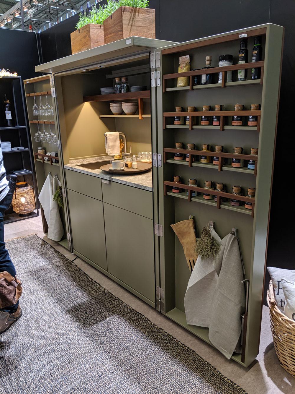 Cubic Outdoor Kitchens garden storage