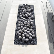 Standard size ceramic pebbles