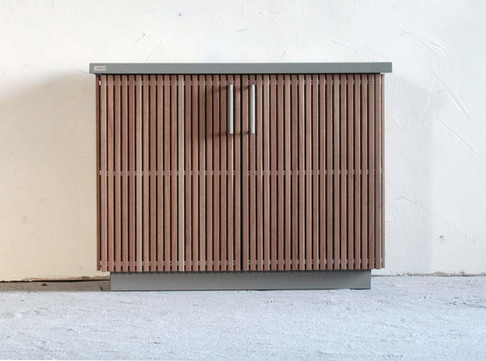 The CUBIC BOX outdoor garden storage