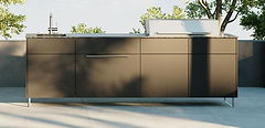 CUBIC C2 style outdoor kitchen