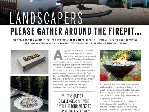 How the Love Island firebowl has put fire pits firmly on the map.