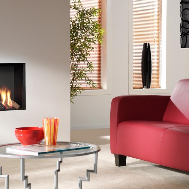 UF800-V-GL gas fireplace