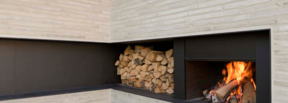Bespoke UF740-75 with log store
