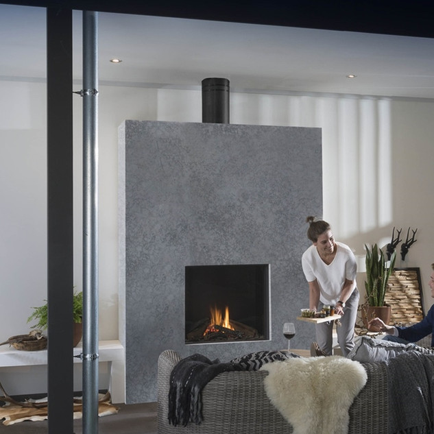 Small outdoor fireplace (UF750-OD)