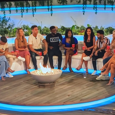 The real Love Island firepit