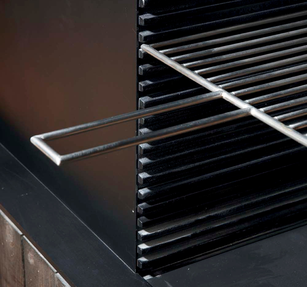 Grille for UF740-75 with log store