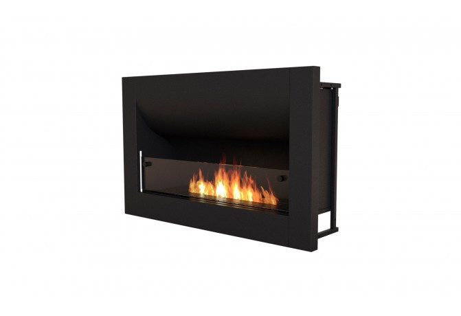 Four standard size bioethanol fireboxes