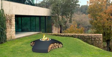 Bespoke woodburning fireplace