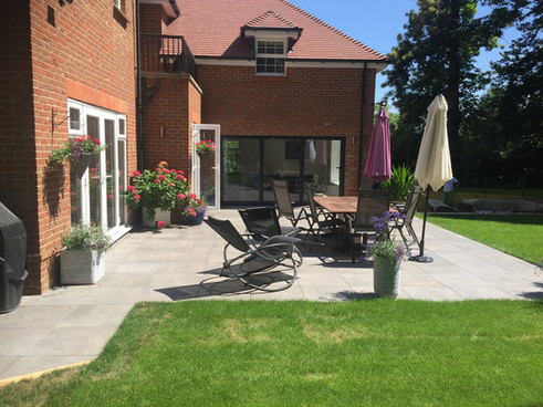 Hard landscaping made easier with our modular system