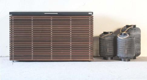 The CUBIC SIDEBOARD outdoor garden storage