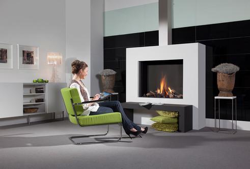 UF1000H gas fireplace