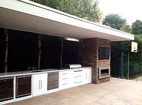 Urban Fires outdoor kitchens
