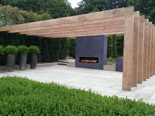 Spending more time at home? Five great tips for choosing an outside fireplace.