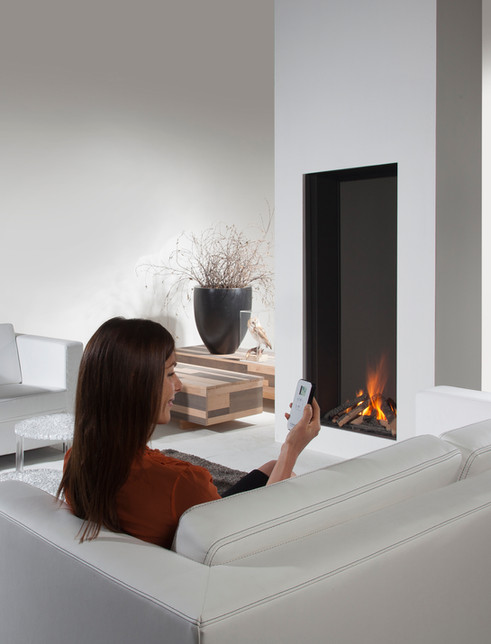 Our Urban Fires vertical gas fireplace