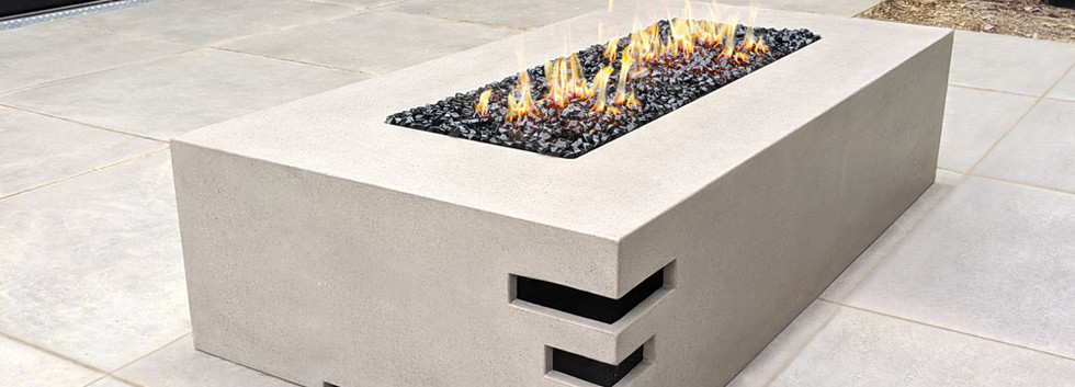 Dakota1400 concrete fire pit