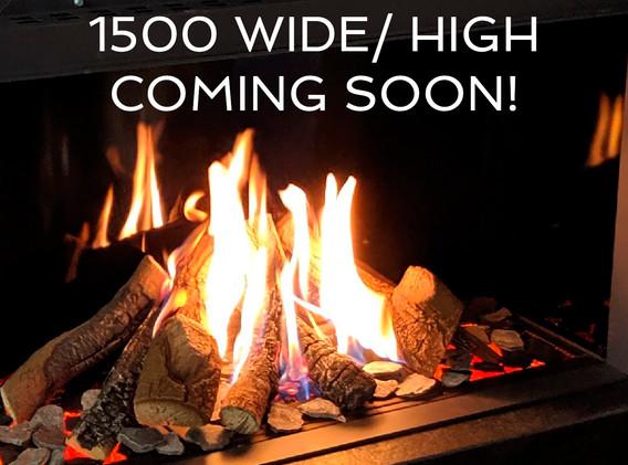 URBAN FIRES UF1500-F-EL-H  High Window electric fireplace