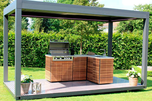 Yes, we can add a pergola!