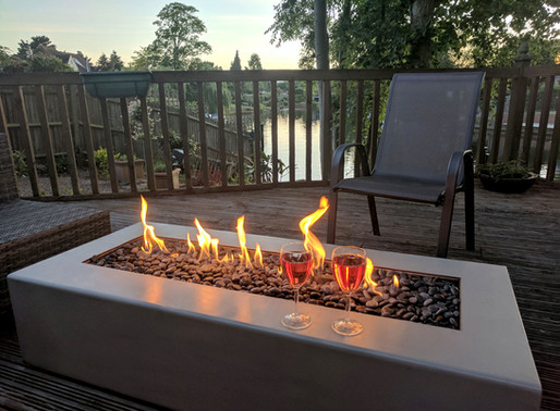 Bring the magic outdoors with an outside fire pit.