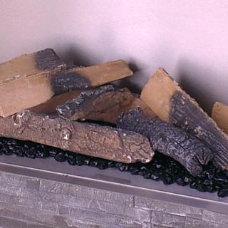 High Definition ceramic logs