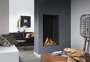 Urban Fires UF1230 Vertical gas fireplac