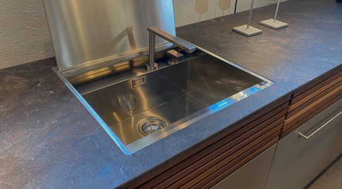 Barazza kitchen sink. The genius is in the detail.