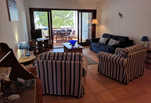 Living room in Cala Egos