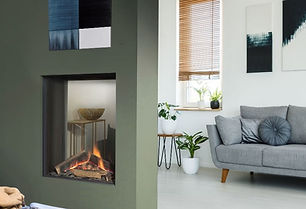 UF800-ST-V Vertical gas fireplace