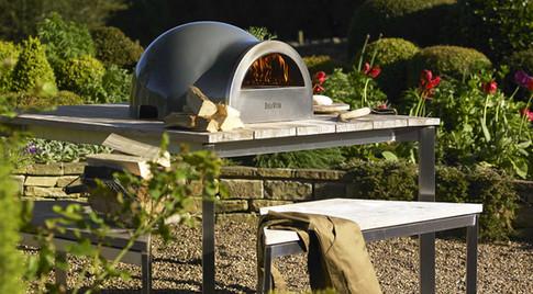 Woodburning pizza ovens