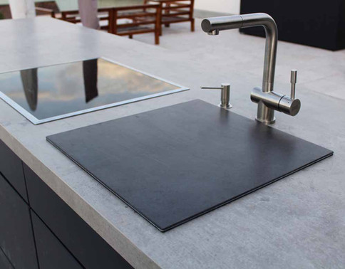 A sink will add hygene to your cooking passion.
