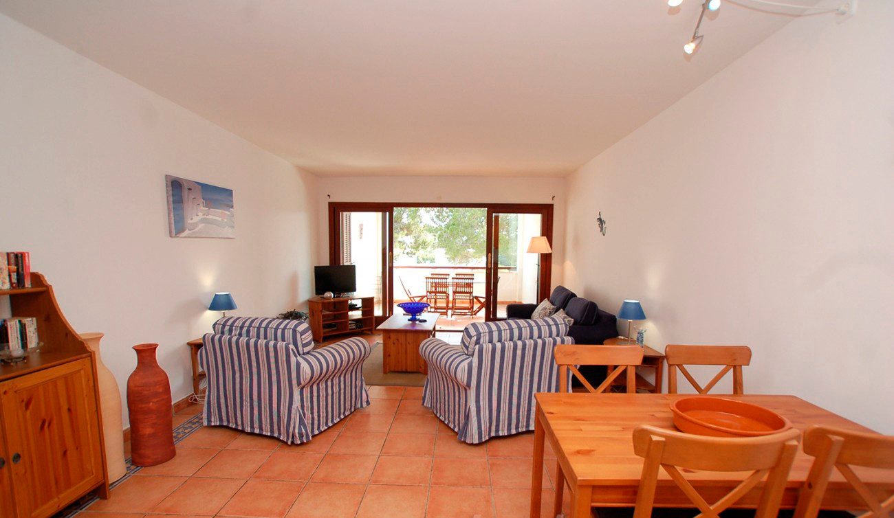 Spacious living /dining room in Residencia Cala Dorada