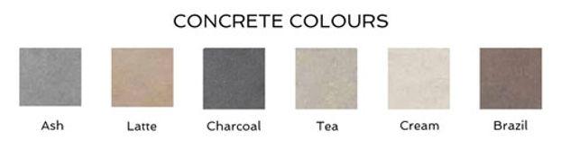 Concrete colours