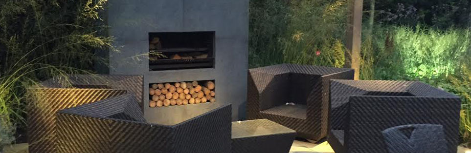 Woodburning outdoor firepit by Urban Fires